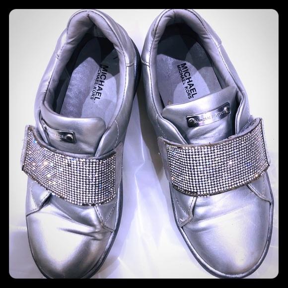 Michael Kors Other - Michael kors girls slip on sneaker size  1